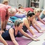 Yin Yoga adjustment class | Stillnessinyoga