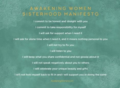 Awakening Women Manifesto