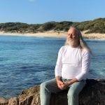 Nigam meditating
